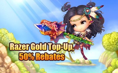 Razor Gold Channel Top-Up Promotion Event