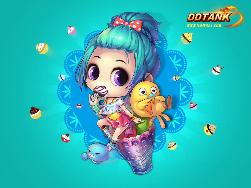 DDTank - The Hottest And Cutest Online Shooting Game