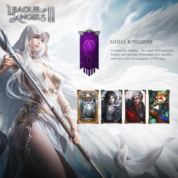 League of Angels II-Write your own legend