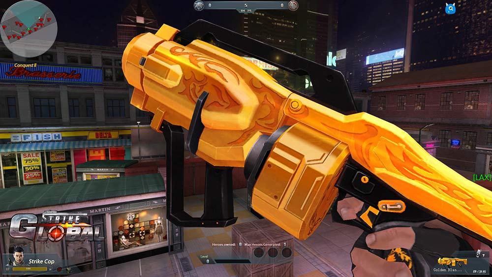 Global Strike - Free 3D FPS Game