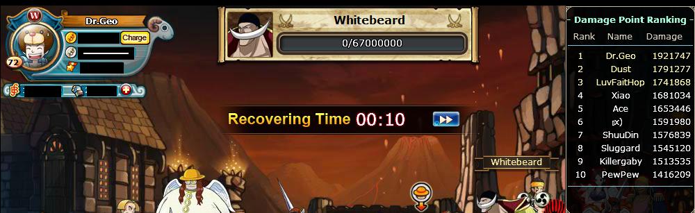 Challenge WhiteBeard